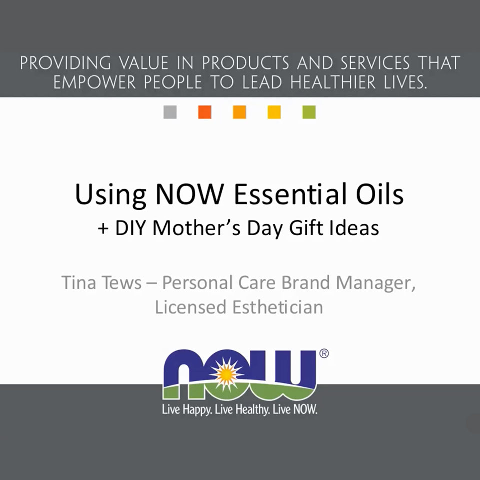 using essential oils webinar thumbnail
