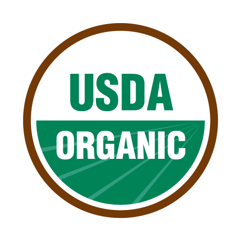 Seal indicating this product is certified as USDA Organic
